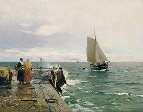 Eugen Dücker: An der Ostseeküste