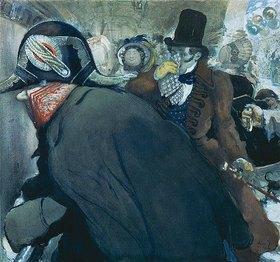 Leon Nikolajewitsch Bakst: Illustration zu Gogols Novelle 'Die Nase'
