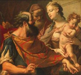 Sebastiano Ricci: Moses zertritt die Krone des Pharao
