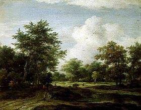 Jacob Isaacksz van Ruisdael: Kleine Waldlandschaft