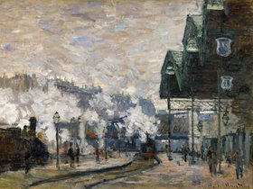 Claude Monet: Der Bahnhof Saint-Lazare