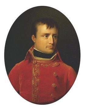A Girodet de Roussy-Trioson: Napoleon Bonap. als 1.Konsul von Frankreich. Kopie nach dem Gemälde von Jacque