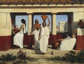 Dominique Louis Fereol: Griechische Frauen im Brunnen