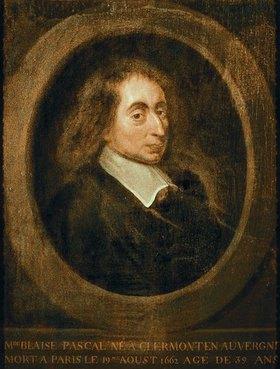 Französisch: Blaise Pascal (1623-1663) . 17. Jahrhundert
