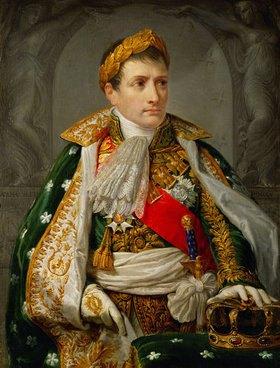 Anonym: Napoleon Bonaparte als König von Italien. 1805 (von Appiani d.Ä.?)