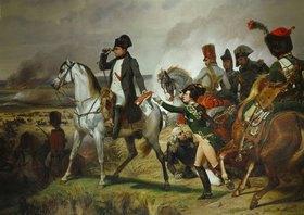 Emile Jean Horace Vernet: Napoleon Bonaparte in der Schlacht von Wagram. 06. Juli