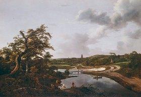 Jacob Isaacksz van Ruisdael: Fluß-Ufer