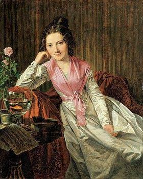 Ferdinand Georg Waldmüller: Die Schauspielerin Therese Krones (1801-1830)