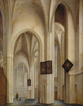 Pieter Jansz Saenredam: Innenansicht der St.Jakobs-Kirche in Utrecht
