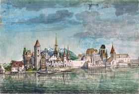 Albrecht Dürer: Innsbruck von Norden gesehen