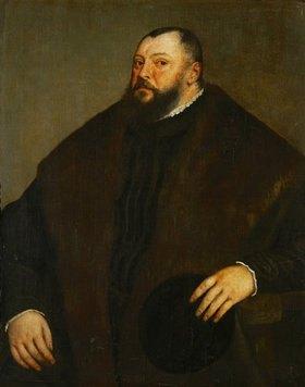 Tizian (Tiziano Vecellio): Kurfürst Johann Friedrich von Sachsen, Bildnis