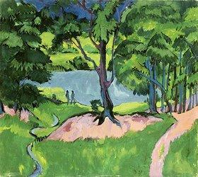 Ernst Ludwig Kirchner: See im Böhmerwald