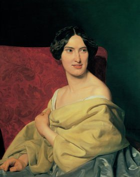 Ferdinand Georg Waldmüller: Anna Bayer (1824-1897), die spätere zweite Gattin Waldmüllers