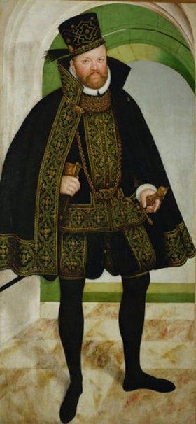 Lucas Cranach d.J.: Kurfürst August von Sachsen (1526-1586)