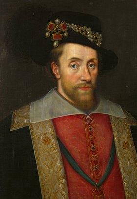 Anonym: James I., König von England und Schottland (1566-1625)