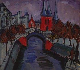 Ernst Ludwig Kirchner: Rotes Elisabeth-Ufer