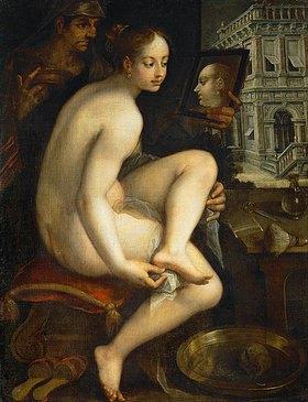 Hans von Aachen: Bathseba im Bade. 1612 (?)