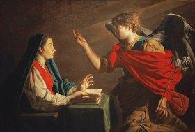 Matthias Stomer: Verkündigung Mariae