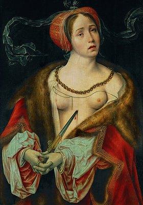 Joos van Cleve: Der Selbstmord der Lucrezia
