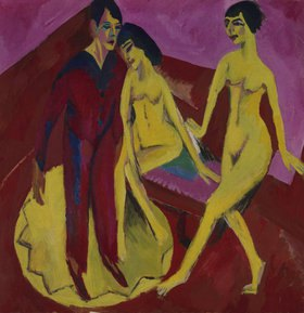 Ernst Ludwig Kirchner: Tanzschule