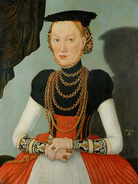 Lucas Cranach d.J.: Weibliches Portrait