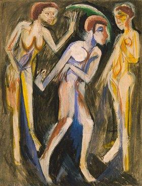 Ernst Ludwig Kirchner: Tanz zwischen Frauen