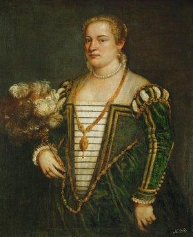 Tizian (Tiziano Vecellio): Lavinia, die Tochter des Malers