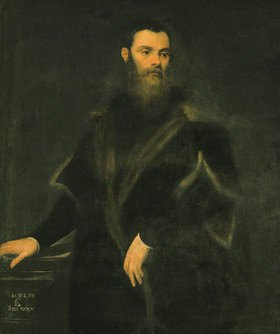 Tintoretto (Jacopo Robusti): Lorenzo Soranzo, venezianischer Ratsherr im Alter von 35 Jahren