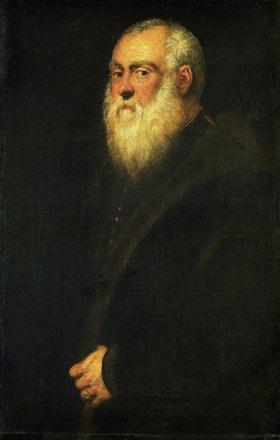 Tintoretto (Jacopo Robusti): Älterer Herr mit weissem Bart