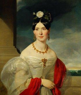 Friedrich von Amerling: Maria Freifrau von Vesque-Puettlingen