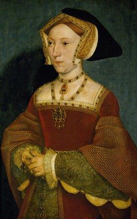 Hans Holbein d.J.: Jane Seymour (1509-1537), Königin von England, dritte Frau von Heinrich VIII