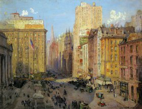 Colin Campbell Cooper: Die Fith Avenue in New York
