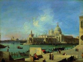 Canaletto (Giov.Antonio Canal): Blick vom Canale Grande auf Sta. Maria della Salute, Venedig