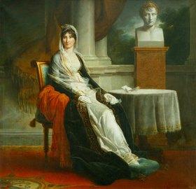 François Pascal Simon Gérard: Bildnis von Laetitia Bonaparte (1750-1836), der Mutter Napoleon Bonapartes