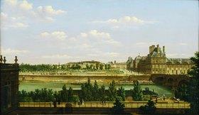 Etienne Bouhot: Der Tuillerien-Garten und die Tuillerien in Paris