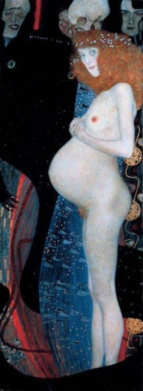 Gustav Klimt: Die Hoffnung I. 1903 (D.129)