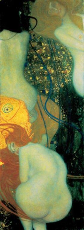 Gustav Klimt: Goldfische. 1901/1902. (D.124)