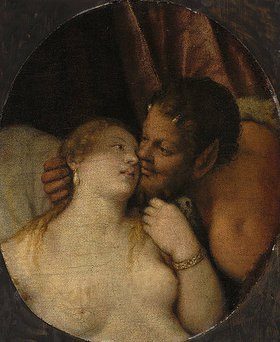 Paolo (Paolo Caliari) Veronese: Jupiter und Anthiope