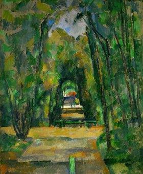 Paul Cézanne: Schloss und Dorf Medan
