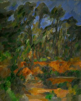 Paul Cézanne: Wald