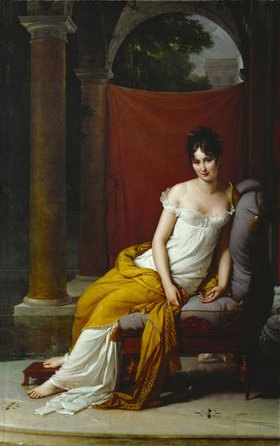 Jacques Louis David: Madame Recamier, Bildnis, (1777-1849)