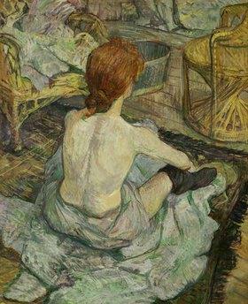 Henri de Toulouse-Lautrec: La Toilette