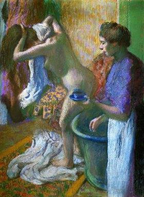 Edgar Degas: Die Tasse Kaffee nach dem Bad