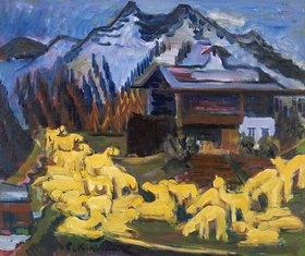 Ernst Ludwig Kirchner: Schafherde