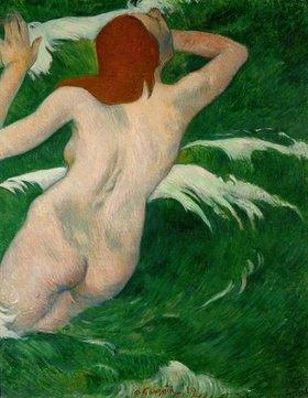 Paul Gauguin: Akt zwischen Wellen