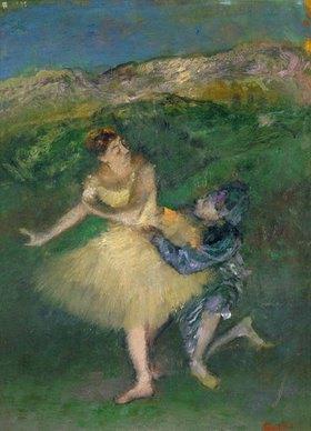 Edgar Degas: Harlequin und Kolumbine