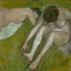 Edgar Degas: Zwei nackte Frauen
