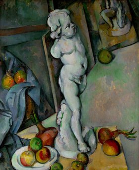 Paul Cézanne: Gips-Putte
