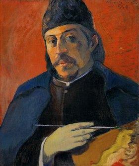 Paul Gauguin: Selbstbildnis mit Palette