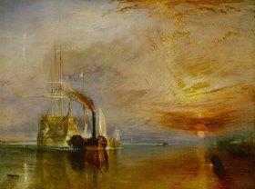 Joseph Mallord William Turner: Die Temeraire an ihrem letzten Ankerplatz